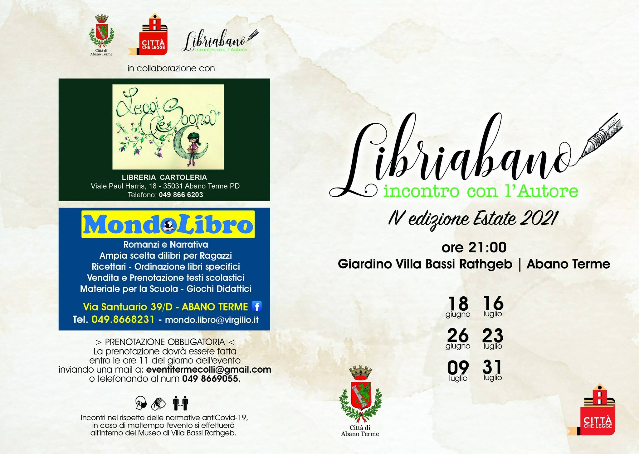 Abano.it| Libriabano 2021